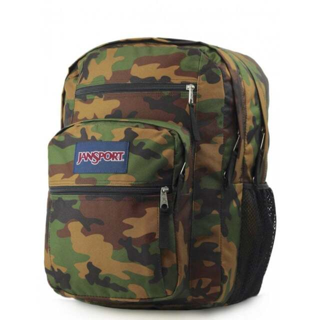 254f730abec JANSPORT Big Student Backpack - Surplus Camo Schoolbag JS00TDN74J9 **FREE  Haribo