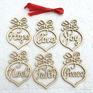 image is loading christmas letter wood heart bubble pattern ornament christmas - Christmas Letter Decorations
