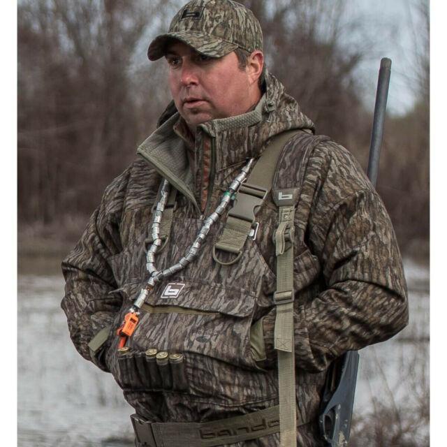 Banded Mingo Softshell Wader Jacket Waterfowl Water & Wind Proof Coat Bottomland