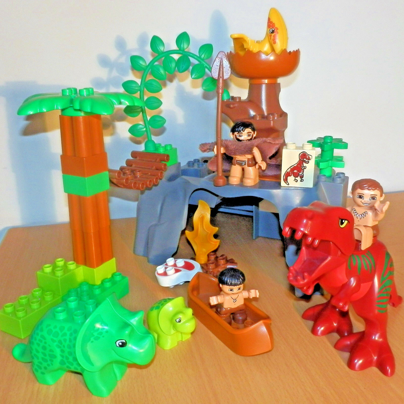 LEGO DUPLO Dino Valley - Dinosaurs World Cavemen T-Rex Jurassic Park (set 5598)