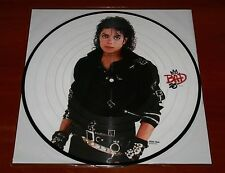 MICHAEL JACKSON BAD 25 ANNIVERSARY EDITION LP PICTURE DISC VINYL EU PRESS New