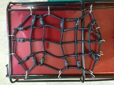 Rock Crawler/axial/RC 1:10th Scale Quality Luggage Net With Hooks ( Black)