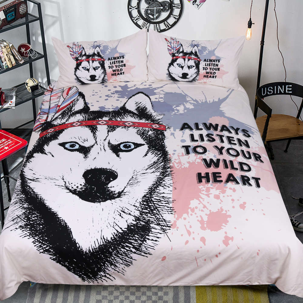 A Dog's Purpose 3D Quilt Duvet Doona Cover Set Single Double Queen King Print