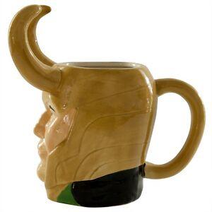 Thor Loki Marvel Molded 16 oz Mug