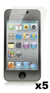 5x-Anti-Glare-Crystal-Clear-Screen-Protector-for-iPod-Touch-4-4th-Gen