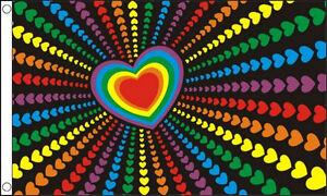 5-x-3-Rainbow-Love-Flag-Gay-Pride-Peace-Heart-LGBT-Festival-Flags-Banner