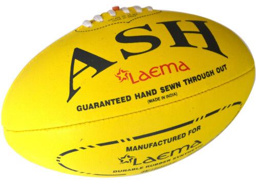 Pro Advance Synthetic Rubber Pin Grip HiTech AFL Australian Rules Ball Size-5 US