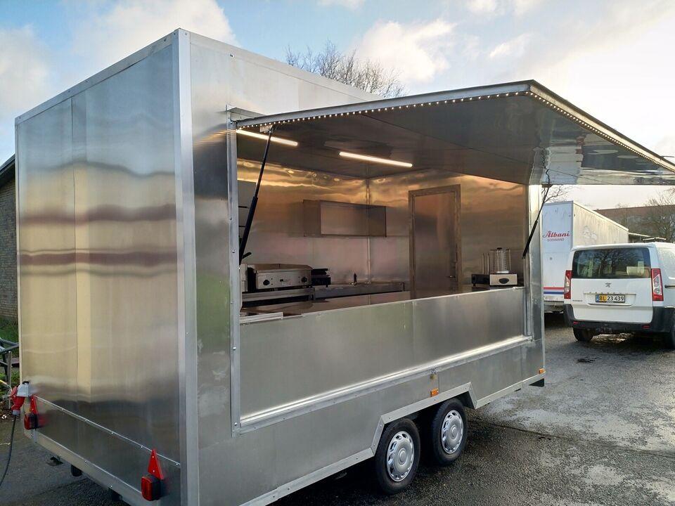 Pølsevogn, salgsvogn food trailer, lastevne (kg): 750