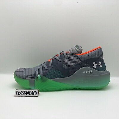 Under Armour Spawn Low Mens Basketball Shoes Black Anatomix SIZE 7 UK 3021263
