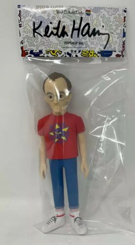 RARE Medicom Vinyl Collectible Dolls Pop Shop KEITH HARING VCD DCON Exclusive
