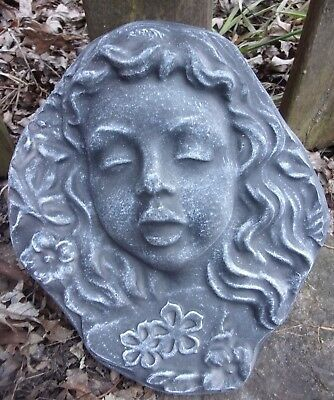 Plastic Memorial mold garden ornament plaster concrete mould