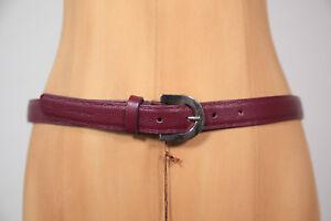 da456f6ffd778 Das Bild wird geladen Neu-Coccinelle-modischer-Hueft-Leder-Guertel-Belt-83-