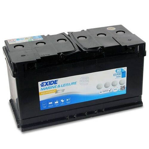 Successeur de G80 900wh Es900 Exide Gel Batterie D/'Alimentation 80ah