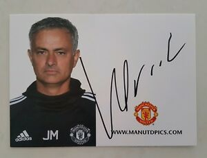 JOSE-MOURINHO-SIGNED-IN-PERSON-4-X-6-INCH-MANCHESTER-UNITED-PROMO-CARD-CHELSEA
