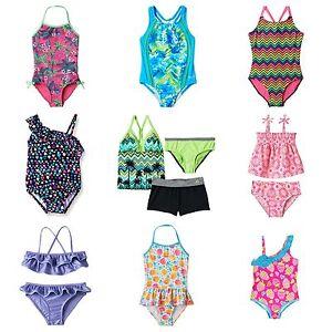 9ed9d7a098 Girls OshKosh Speedo SO ZeroXposur Swimsuits NWT $26-$50 1-pc 2-pc 3 ...