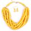 Women-Bohemian-Choker-Chunk-Crystal-Statement-Necklace-Wedding-Jewelry-Set thumbnail 129