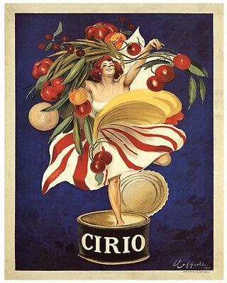 VINTAGE ITALIAN FOOD PRINT - CIRIO by Leonetto Cappiello 24x32 Poster