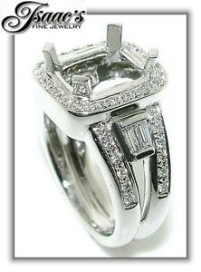 75-CT-Rectangular-HALO-DIAMOND-Mounting-RING-14KW