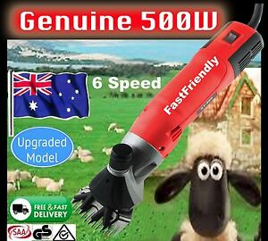 New-500W-Electric-Sheep-Shearing-Supplies-Goats-Clipper-Shear-Shears-Alpaca-READ