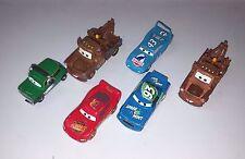 lot of 6 Disney Pixar CARS Assorted Action Characters Lightning McQueen Diecast