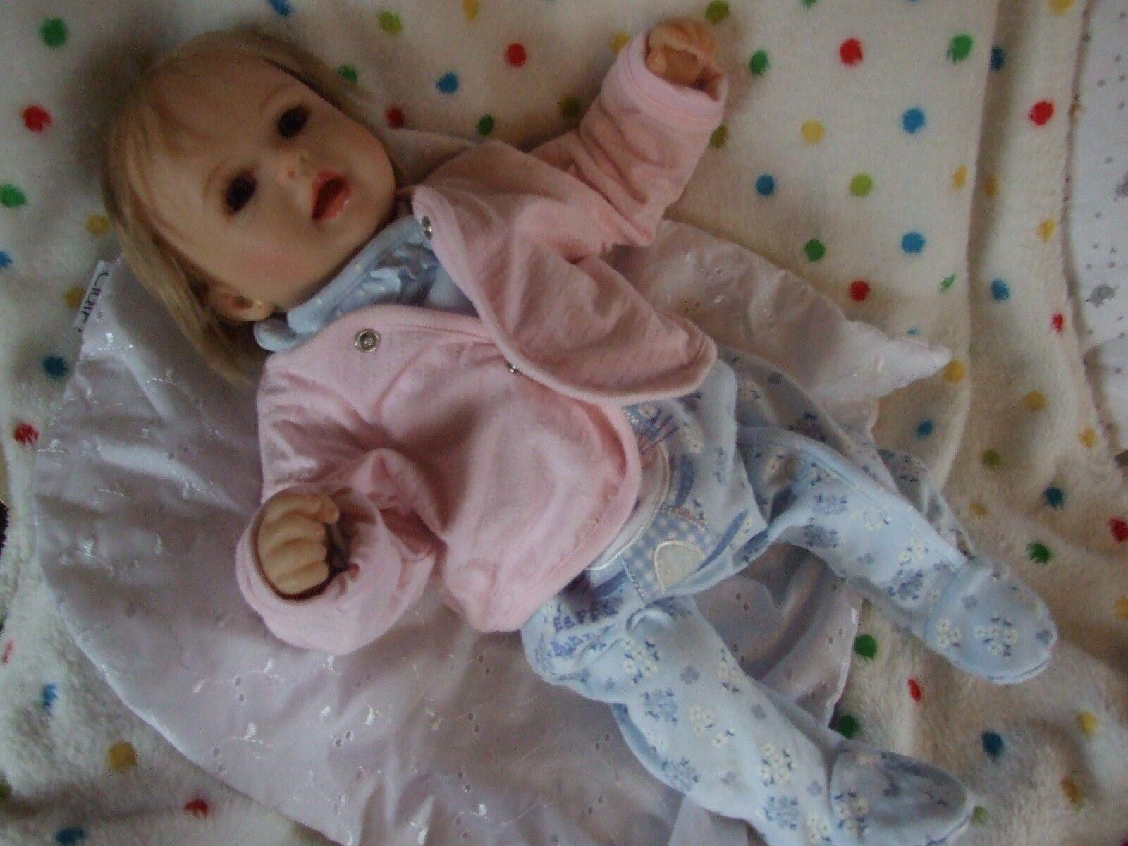 Realistic  Soft Soft Soft Bodied Baby Doll  Reborn realistic lifelike 6b2442