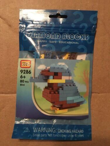 80 PCS Bird 9286 LOZ Diamond Blocks Nano Mini Building Blocks Building Toys