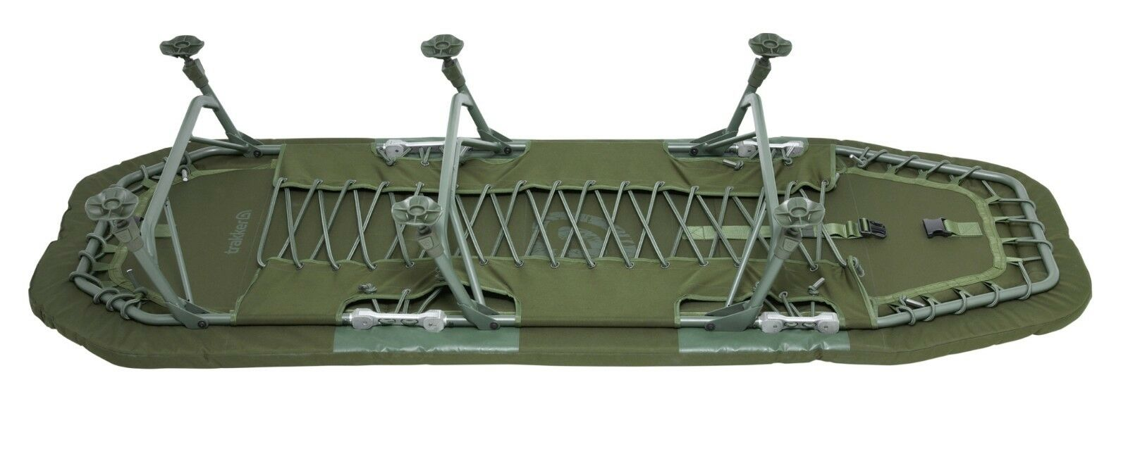 Trakker Levelite Lumbar Bed NEW Carp Fishing Bedchair Bedchair Fishing - 217118 5bbc4a