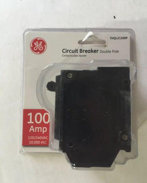 Ge THQL21100 V Double Pole Breaker 100 Amp