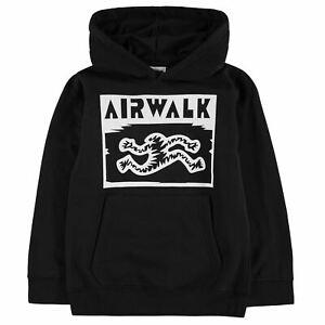 Airwalk Enfants Garçons Imprimé Sweat à Capuche Junior Oth Hoody à Capuche Haut à Manches Longues-afficher Le Titre D'origine Marchandises De Haute Qualité