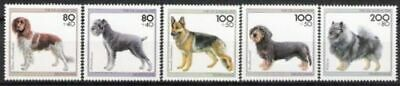 ZuverläSsig Bund Nr.1797/1801 ** Für Die Jugend Postfrisch Hunderassen 1995