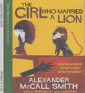 The-Girl-Who-Married-a-Lion-Alexander-McCall-Smith-3CD-Audio-Book-NEW-Abridged