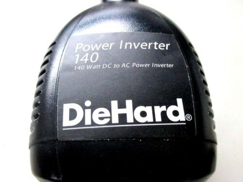 DieHard 140 Watt DC To AC Power Inverter *New*