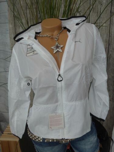 L weiß 734 leichter Stoff NEU Puma Jacke Trainingsjacke Sportjacke Gr