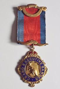 Masonic-Buffaloes-Jewel-1938-RAOB-Gilt-and-Enamel-Grand-Executive-Banner-Jewel