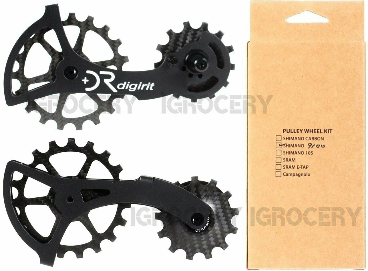 Digirit Alloy Cage w Carbon Ceramic Pulleys 13 19T Wheel  Kit for R9100 R8000 NIB  all products get up to 34% off