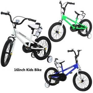 ridgeyard 16 zoll kinderfahrrad jungenfahrrad kinderrad fahrrad mit st tzr der ebay. Black Bedroom Furniture Sets. Home Design Ideas