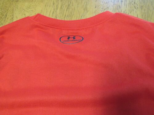 "NWT UNDER ARMOUR RED /""Want it Win it/"" OR WHITE Glow in Dark s//s SHIRT Toddler 3T"
