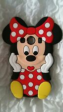 Funda para móvil MINNIE RED SILICONA para SAMSUNG GALAXY ACE 4 G357