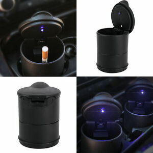 Auto-Car-Truck-LED-Cigarette-Smoke-Ashtray-Ash-Cylinder-Cup-Holder-New-GK
