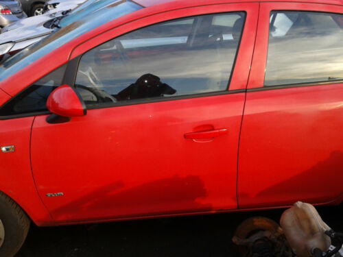 vauxhall corsa d 2008 red DOORS O//S//F or O//S//R or N//S//F or N//S//R SOLD SEPARATELY