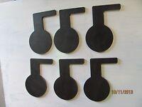 Dueling Tree Pad 3/8 X 3 X 7/8 X 6 Diam Ar500 Set 6 Pcs Tgard011
