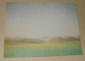 Carton-Exposition-Xavier-VALLS-Pinturas-y-acuarelas-034-ARCO-91-034-Galerie-C-BERNARD