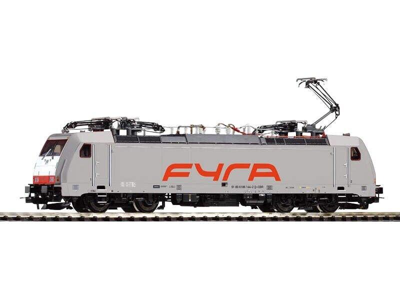 PIKO 59860 E-Lok BR 186 Fyra grigio, AC-versione, EPOCA VI, traccia h0
