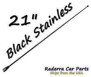 "13/"" Black Stainless AM FM Antenna Mast FITS 2010-2019 Dodge Ram Truck 4500"