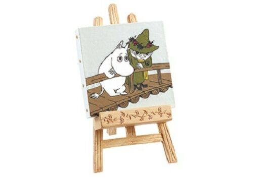 Re-Ment Miniature MOOMIN Canvas Painting Collection # 8 Moomin Snufkin
