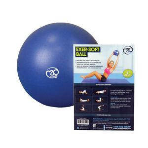 Fitness-Mad-Pilates-7-034-Core-Strength-amp-Pelvic-Exer-Soft-Gym-Home-Workout-Ball
