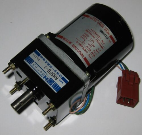 Japan Servo Induction 50 Hz Motor w Capacitor 115 V 18 Watts 283 RPM 15