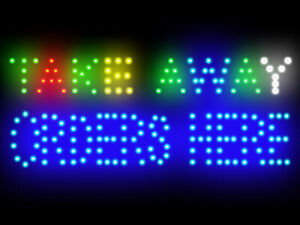 """Check In Led Neon Sign Display 15.5/""""X 9/"""""""