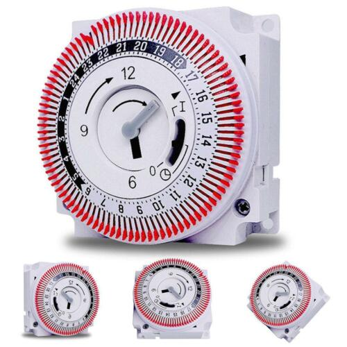 1pc New Timer Switch Mechanical Industrial Timing Device Switch Protect Panel