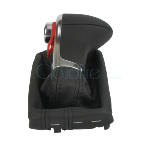 x1 Für Audi A3 A4 A6 Q7 Leder Automatik Schaltsack Schaltknauf Rahmen 4G1713139